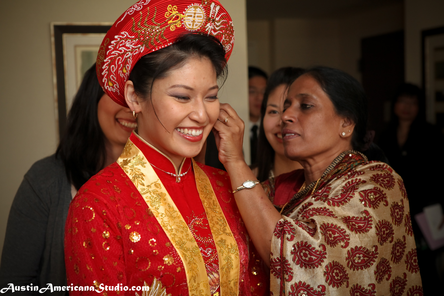 Vietnamese Wedding Austin Americana Studio