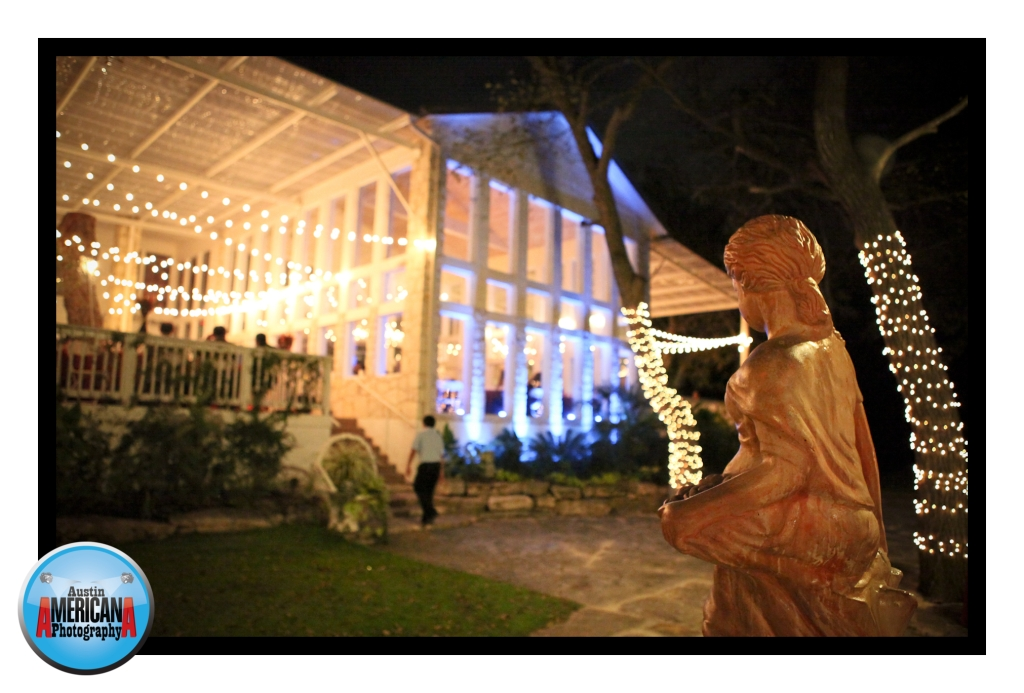 Night Photo of Wedding Venue