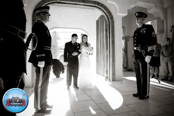 Austin Military Wedding