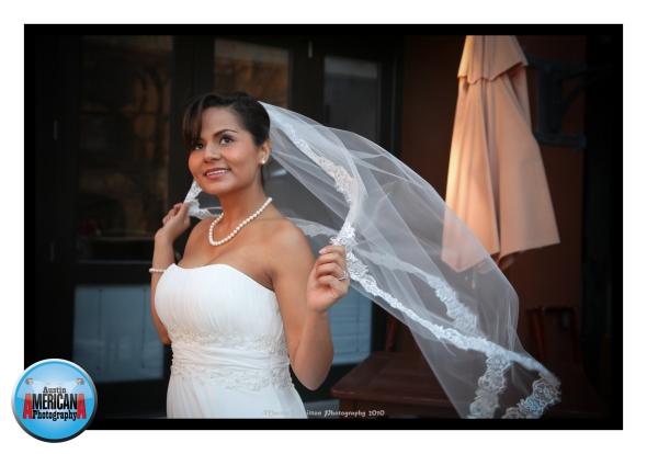 Austin Bride with Veil