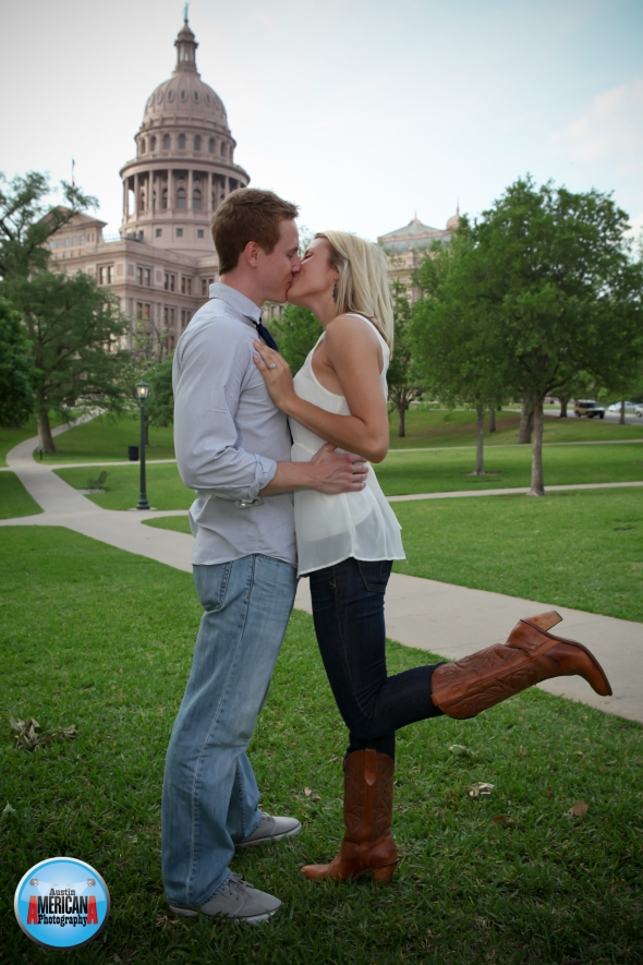capitol engagement photo
