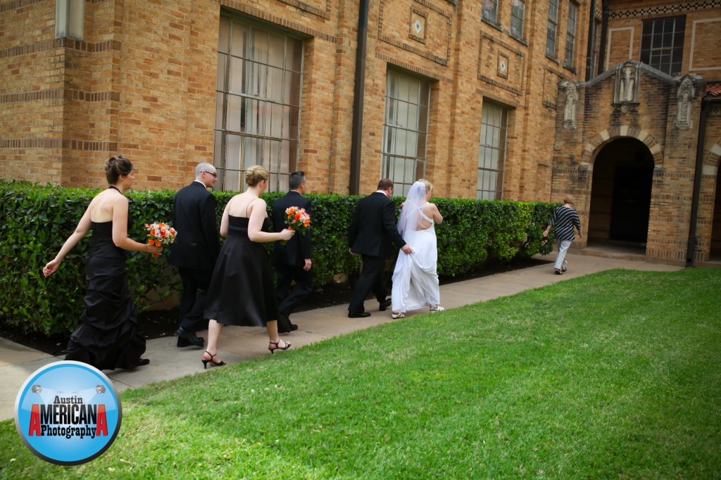Bridal Party at Central Christian Church