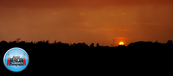 Sunset in Pflugerville, TX