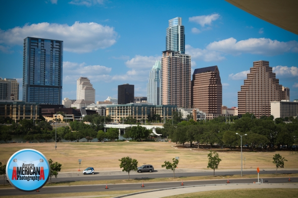 long center view of downtown austin