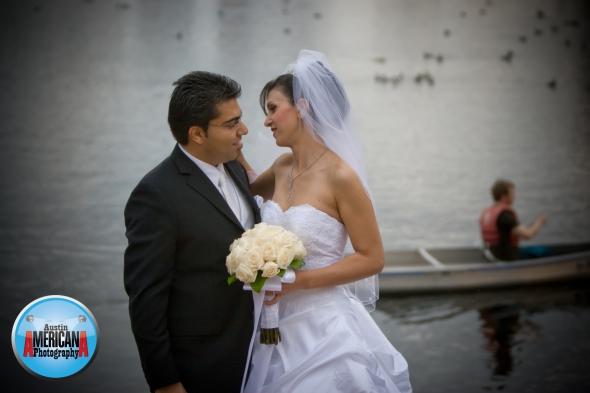lady bird lake bride