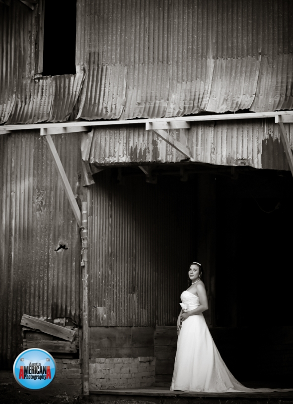 bride at Zedler Mill