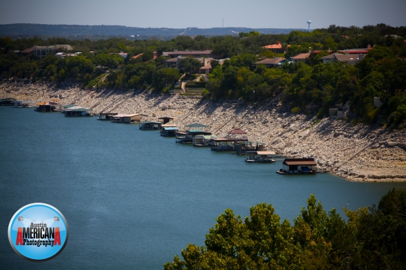 Low Lake Levels at Lake Travis