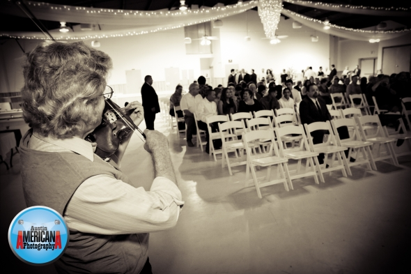 central texas wedding fiddler
